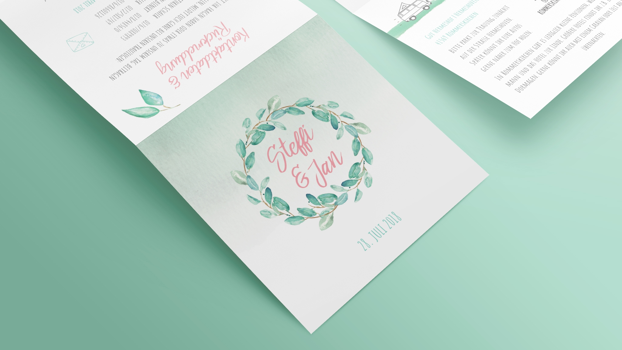 Hochzeitskarten Steffi Jan Maik Grabosch Creations